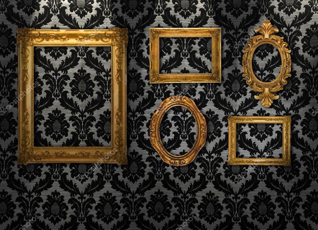 Retro picture frames