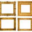 Foto de Stock  : Gold frames