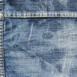 Worn jeans texture — Stock Photo