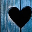 Wooden door with heart — Stock Photo #6684762