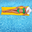 Relaxing in the water — Stock Photo #6684842