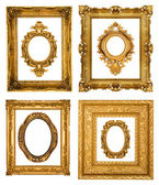 Gold frames — Stock Photo