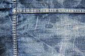Textura de jeans desgastado — Foto Stock