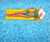 Relaxing in the water — Stock Photo