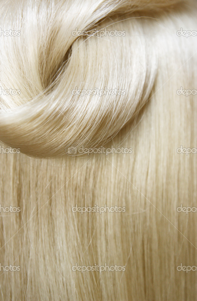 Sleek hair closeup  Stock Photo #6684740