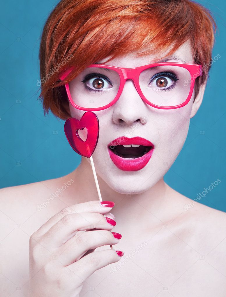 Sweet candy girl  Stock Photo #6684784