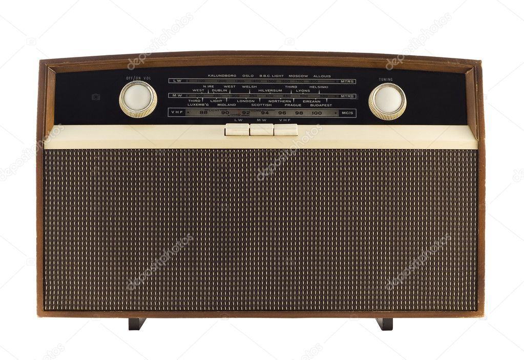 Vintage radio — Stock Photo #6684785