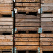 Wooden crate — Stock Photo