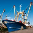 Fish trawler - Stock Photo