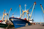 Fish trawler — Stock Photo