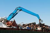 Metal waste — Stock Photo