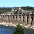 Bonneville dam north west, Oregon. — Stock Photo
