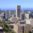 Stock Photo: Skyline view of Portland Oregon.