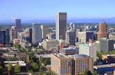 Skyline view of Portland Oregon. — Stock Photo