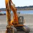 Excavator industrial — Stock Photo