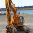 Stock Photo: Excavator industrial