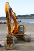 Excavator industrial — Stock Photo