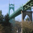 Постер, плакат: St John bridge Portland OR