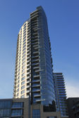 New condominium complex high rises, Portland OR. — Stock Photo