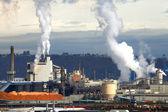 Industrial manufacturing, Tacoma Washington state. — Stock Photo
