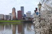 Sign of Spring, Portland Oregon. — Stock Photo