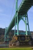 The St. John bridge Portland OR. — Stock Photo