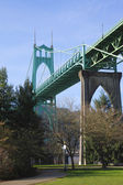St. John bridge Portland OR. — Stock Photo
