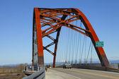 Sauvie island bridge. — Stock Photo
