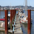 Marina in Astoria Oregon. — Stock Photo