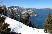Parque nacional lago del cráter, oregón. — Foto de Stock