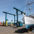 Stock Photo: Repair yard for boats, AstoriOR.