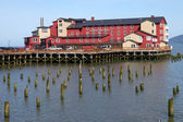 Old cannery hotel, Astoria OR. — Stock Photo