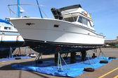 Repair yard for boats, Astoria OR. — Stock Photo