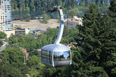Aerial tram, Portland OR. — Stock Photo