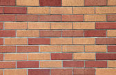 Brick wall & patterns. — Stockfoto