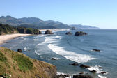 Ecola state park, Oregon coast & Pacific ocean. — Stock Photo