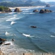 Oregon coast at Ecola state park. - Stock Photo