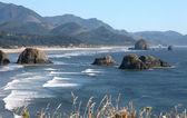 Oregon coastline beaches. — Stock Photo
