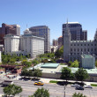 Salt Lake city, Utah (downtown) - Stock fotografie
