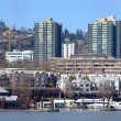 Stock Photo: Downtown marin& waterfront Portland OR.