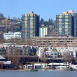 Downtown marina & waterfront Portland OR. — Stock Photo