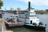 Portland maritime museum, Portland OR. — Stock Photo