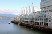 Canada place, vancouver bc kanada. — Stock fotografie