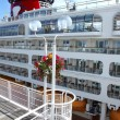 Cruise ship, Canada Place Vancouver BC Canada. - Stock Photo