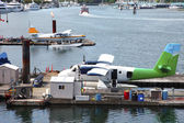 Seaplanes Sightseeing tours Vancouver BC., Canada. — Stock Photo