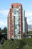 High rise residency Vancouver BC Canada. — Stock Photo