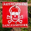 Stock Photo: Danger - Mines!