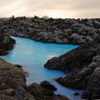 At Blue Lagoon near Reykjavik — Stock Photo #5792996
