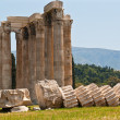 Temple of Olympian Zeus - Stock Photo