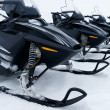 Skidoo's in row — Stock Photo #5793498